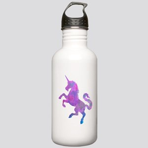 UNICORN with HEARTS DESIGN T SHIRT Water Bottle