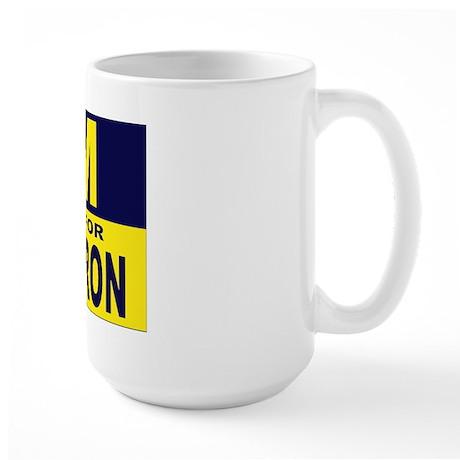 m is for moron-mug Mugs