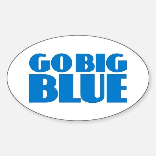 Go Big Blue Decal