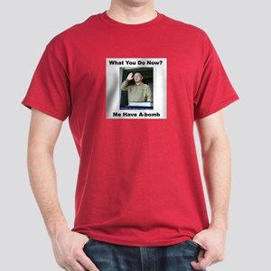 Kim Jung Il - What You Do Now? Dark T-Shirt