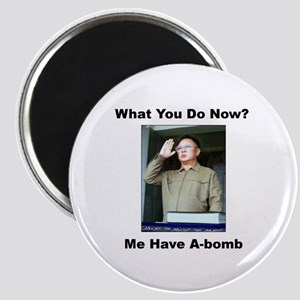 Kim Jung Il - What You Do Now? Magnet