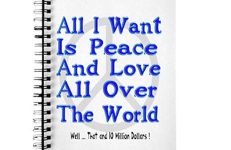 Peace Love Money Journal
