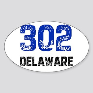 302 Oval Sticker