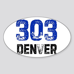 303 Oval Sticker