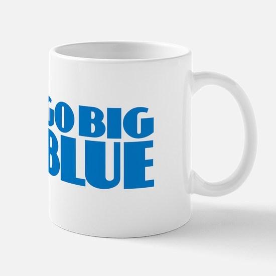 Go Big Blue Mugs