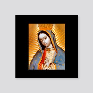 Virgen de Guadalupe - Patrone Sticker (Rectangular