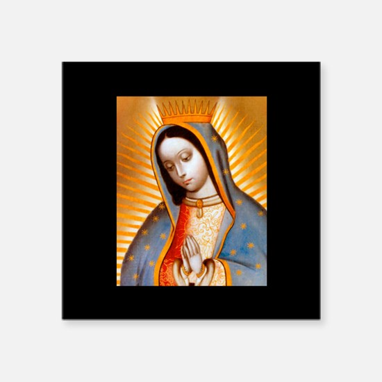 Virgen de Guadalupe - Patrone Sticker (Rectangular