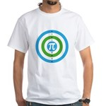 Bulls-pi. Opt 2 White T-Shirt
