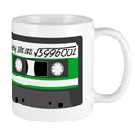 Maths + retro - green Mug