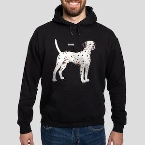 Dalmatian Dog Hoodie (dark)