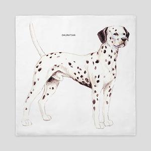 Dalmatian Dog Queen Duvet