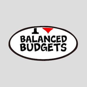 I Love Balanced Budgets Patch