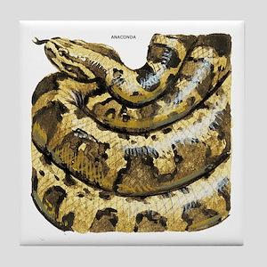 Anaconda Snake Tile Coaster