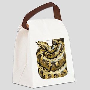 Anaconda Snake Canvas Lunch Bag