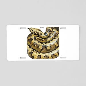 Anaconda Snake Aluminum License Plate