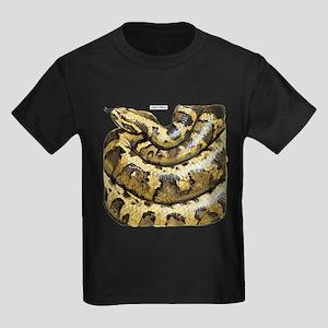 Anaconda Snake Kids Dark T-Shirt