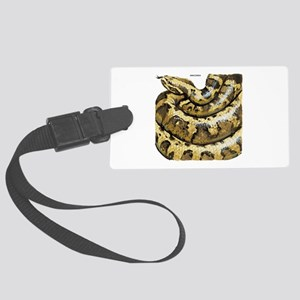 Anaconda Snake Large Luggage Tag