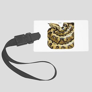 Anaconda Snake Large Luggage Tag