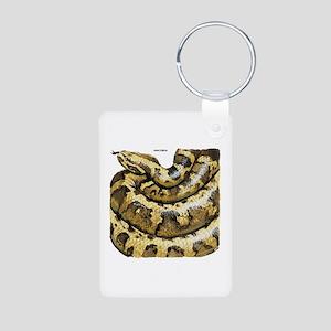 Anaconda Snake Aluminum Photo Keychain