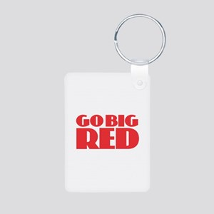 Go Big Red Keychains