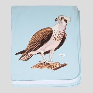 Osprey Bird baby blanket