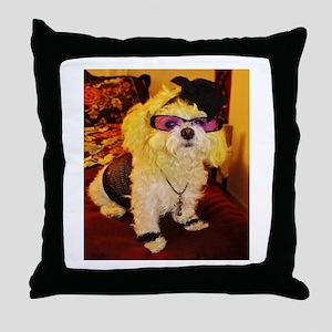 Coco Diva Throw Pillow