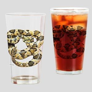 Rattlesnake Snake Drinking Glass
