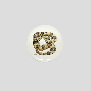 Rattlesnake Snake Mini Button