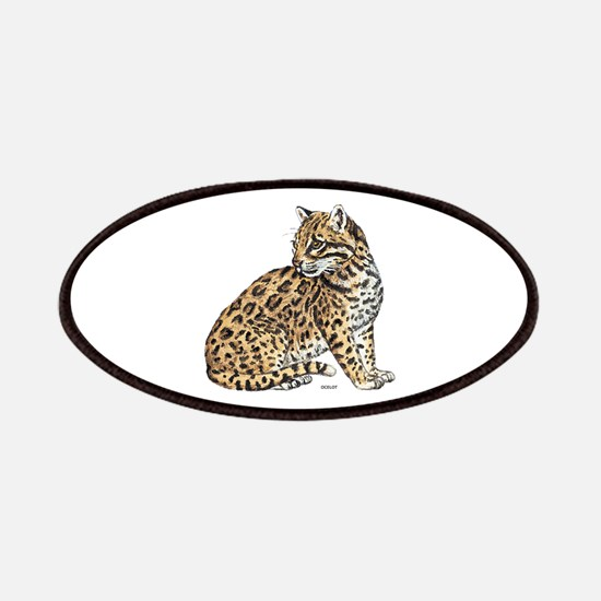 Ocelot Wild Cat Patches