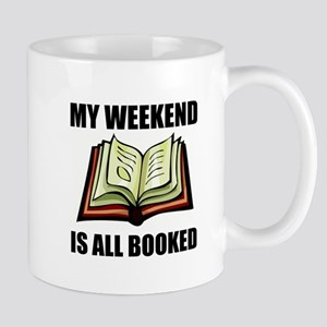 Weekend All Booked Mugs