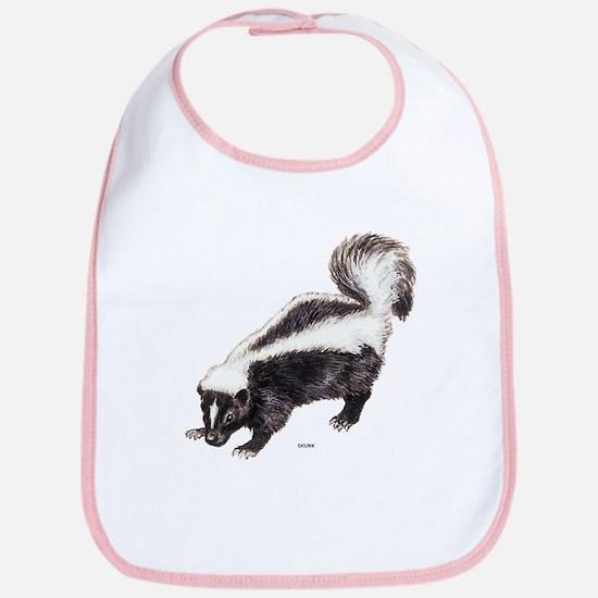 Skunk Animal Bib