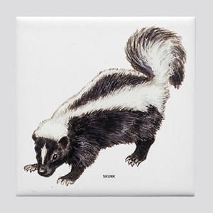 Skunk Animal Tile Coaster