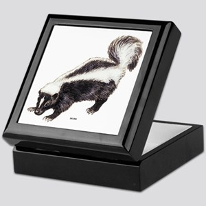 Skunk Animal Keepsake Box