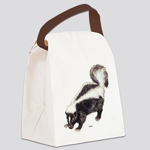 Skunk Animal Canvas Lunch Bag