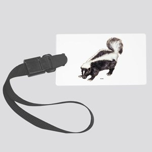 Skunk Animal Large Luggage Tag