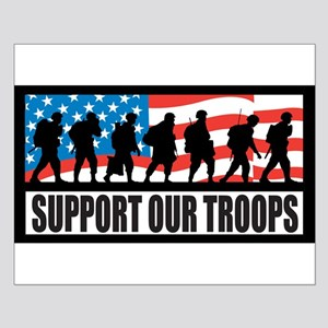 Support our troops - Infantry Posters