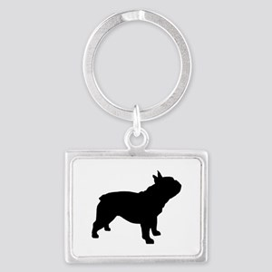 French Bulldog Landscape Keychain