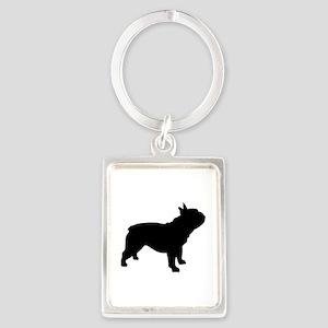 French Bulldog Portrait Keychain
