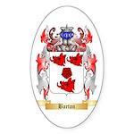 Barton Sticker (Oval 10 pk)