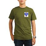 Barton (England) Organic Men's T-Shirt (dark)