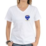 Barton (England) Women's V-Neck T-Shirt