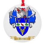 Barton (England) Round Ornament