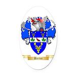Barton (England) Oval Car Magnet