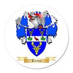 Barton (England) Round Car Magnet