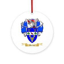 Barton (England) Ornament (Round)