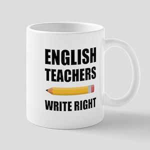 English Teachers Write Right Mugs