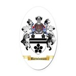 Bartolomucci Oval Car Magnet