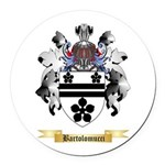 Bartolomucci Round Car Magnet