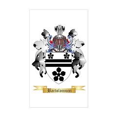 Bartolomucci Sticker (Rectangle)