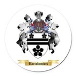 Bartolomivis Round Car Magnet
